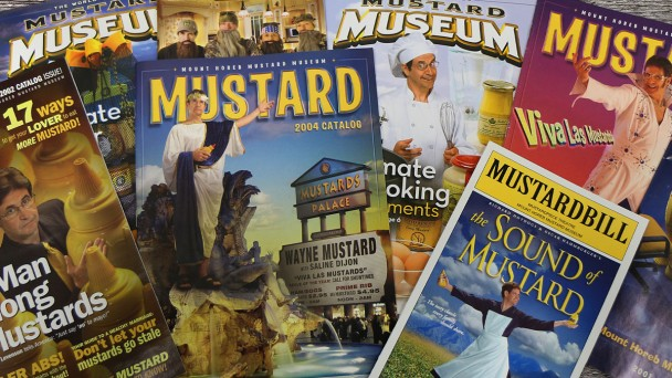 Mustard Museum Catalog covers